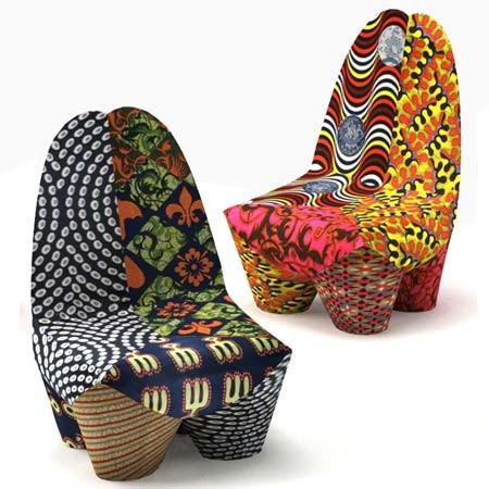 moroso armchair binta 2 Moroso Binta Armchair   Africa inspired