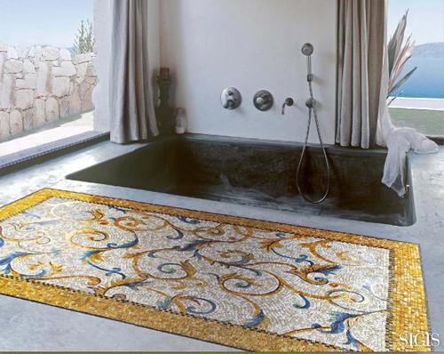 mosaic tile rugs sicis 3