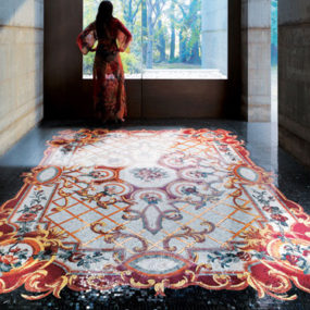 Mosaic Tile Carpet by Sicis