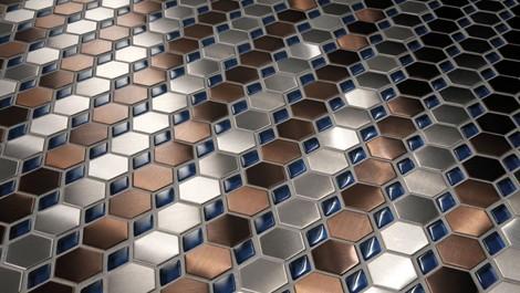 mosaico tiles dialoghi 6 Mosaic Tiles from Mosaico Piu   Dialoghi eye catching collection