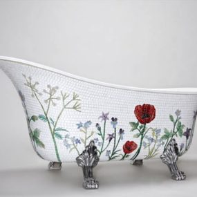 Mosaic Bathtub by MosaicSweden