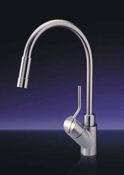 msg progetti unico faucet1 Unico Kitchen Faucet by MGS Progetti