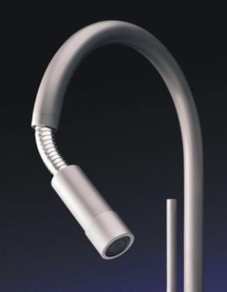 msg progetti unico faucet2 Unico Kitchen Faucet by MGS Progetti