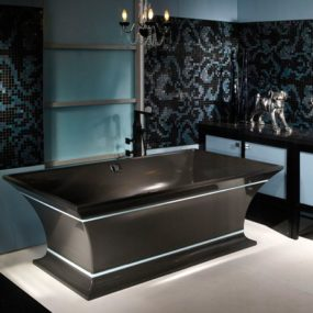 Solid Surface Tubs – Intarcia Pedestal Tub from MTIwhirlpools