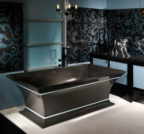 solid surface tubs intarcia pedestal tub from mtiwhirlpools. Black Bedroom Furniture Sets. Home Design Ideas