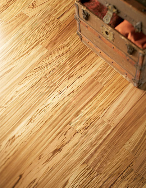 mullican engineered exotic flooring zebrawood Exotic Flooring from Mullican Flooring