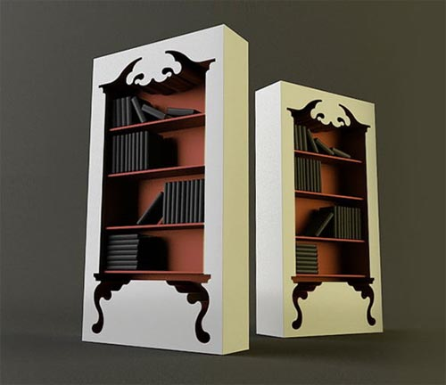 Vintage Style Bookcase By Munkii