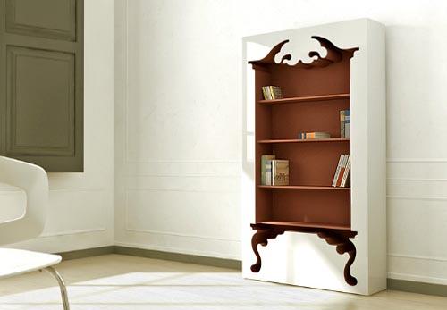 munkii bookshelf vintage 2 Vintage Style Bookcase by Munkii