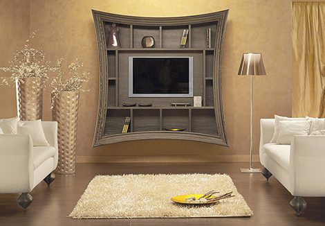 Decorative TV Frames - Flat Screen TV Art Frame by Must Italia