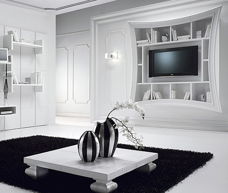 Decorative TV Frames - Flat Screen TV Art Frame by Must Italia