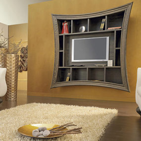 Decorative TV Frames – Flat Screen TV Art Frame by Must Italia