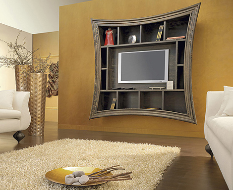 Decorative Tv Frames Flat Screen Tv Art Frame By Must Italia