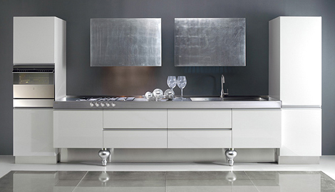 mustitalia simple elegant kitchens 2 Elegant Kitchens with Simple Kitchen Designs by Must Italia