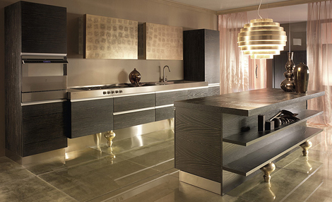 Elegant Kitchens With Simple Kitchen Designs By Must Italia