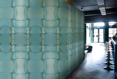 muurbloem gala satin wallpaper Decorative Wallcovering by Muurbloem   Holland wallpapers