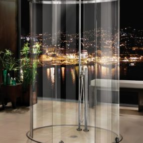 Oval Shower Enclosure by MWE