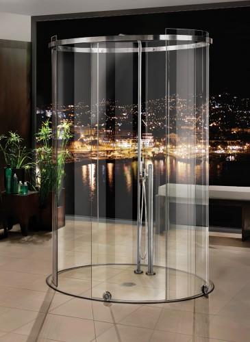 mwe round shower enclosuer terra 1 Oval Shower Enclosure by MWE