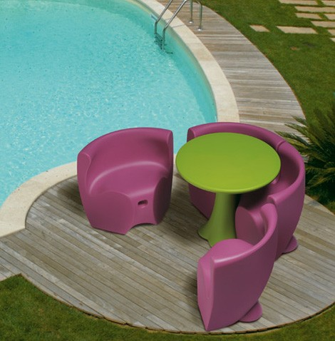 Plastic Outdoor Furniture from MyYour: Fun, Fresh European Design