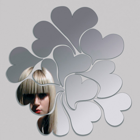 narcisse i love me ich et k Designer Mirror by Domestic   the Narcisse mirrors