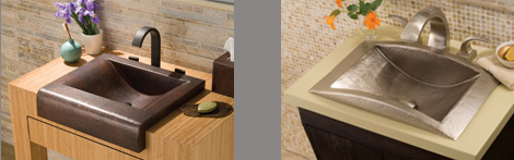 native trails recycled copper kitchen sinks 1 Recycled Copper Sinks   new contemporary sink range by Native Trails