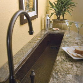 1 Bar Prep Sink From Native Trails U2013 Rio Grande In Antique Bar Sink