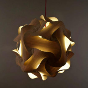 Natural Oak Lighting by Naos