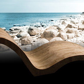 Natural Stone Chaise – Travertine Chaise by Stone Forest