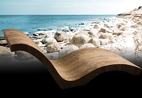 natural stone chaise travertine stone forest 2 Natural Stone Chaise   Travertine Chaise by Stone Forest