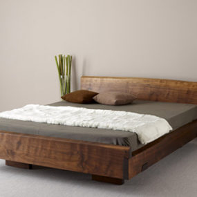 Natural Wood Beds by Ign. Design. – rustic knotty wood