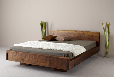 Natural Wood Beds By Ign. Design. U2013 Rustic Knotty Wood