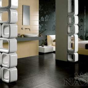 Ceramic Wall from Naxos – new modern X-wall