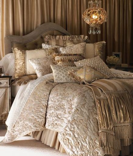 Luxury In The Bedrooms: Designer Linens
