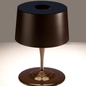 Modern Table Lamp from Nemo (Cassina) – new Chocolate lamp for Christmas!