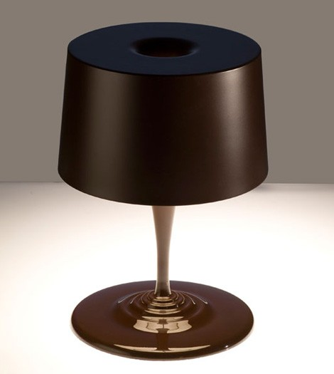 nemo table lamp chocolate 1 Modern Table Lamp from Nemo (Cassina)   new Chocolate lamp for Christmas!
