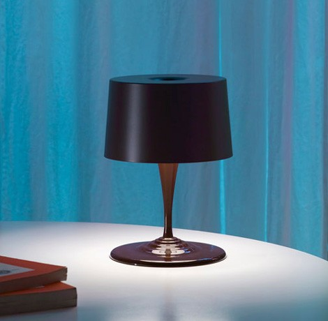 nemo table lamp chocolate 2 Modern Table Lamp from Nemo (Cassina)   new Chocolate lamp for Christmas!