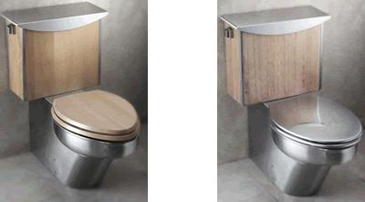neo metro cerine stainless toilets 8995 series Neo Metro Cerine Toilet and Vanity   customizable too!