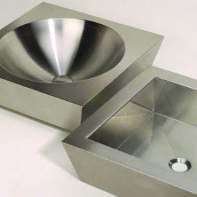 Neo-Metro Tazon and Vizza Vessel Sinks – new countertop vessels
