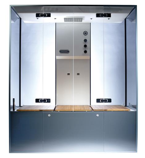 neoqi as cube sauna Luxury Home Sauna by NeoQi   Cube sauna