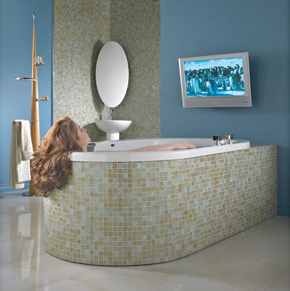 Neptune Neptuner A Bathtub Surround Sound System Bath In Music Or Movies