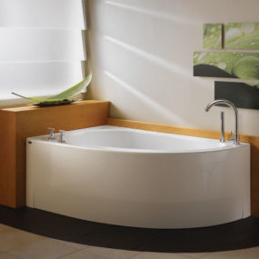 Wind Corner Bath from Neptune