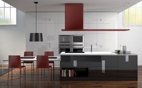 new kitchen designs ernestomeda carre 1 thumb New Kitchen Designs by Ernestomeda   Carre kitchens