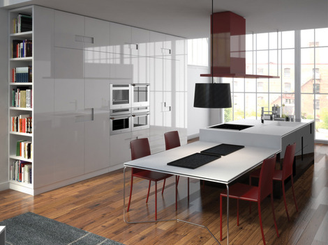 new kitchen designs ernestomeda carre 2 thumb New Kitchen Designs by Ernestomeda   Carre kitchens