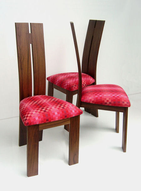 new leaf furniture makers water lily dining chair New Leaf Hardwood Furniture   the Water Lily Dining Chair