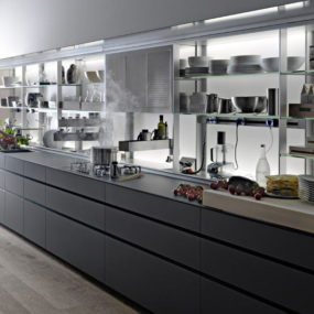 Logica Kitchen System by Valcucine