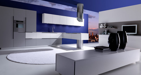 new modern kitchen designs effeti segno 1 thumb New Modern Kitchen Designs by Effeti   new Segno & Sinuosa Kitchens