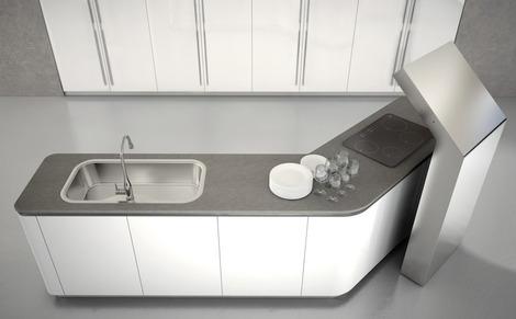 Surprising New Modern Kitchen Designs By Effeti New Segno Sinuosa Interior Design Ideas Clesiryabchikinfo