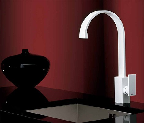 newform faucet d rect White Faucet Collection from Newform