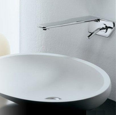 newform faucet flu x wall mount