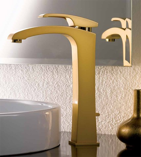 Gold Faucet from Newform