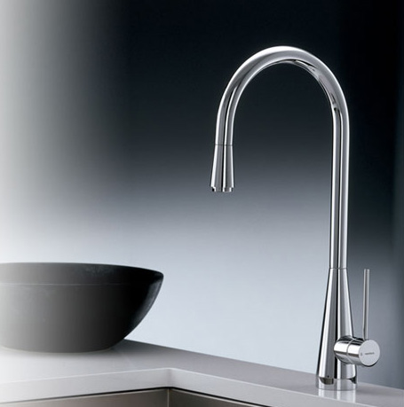 Lit Faucet from Newform - new Y-Con kitchen faucet